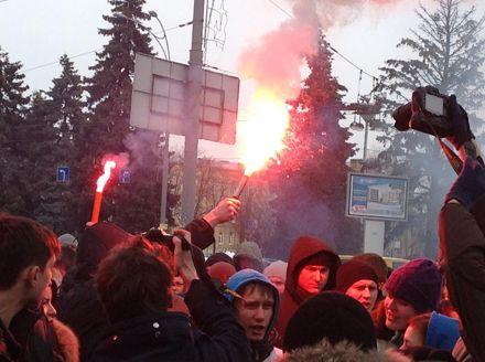 Акция в поддержку Павличенко / Фото Натальи Станко из Facebook