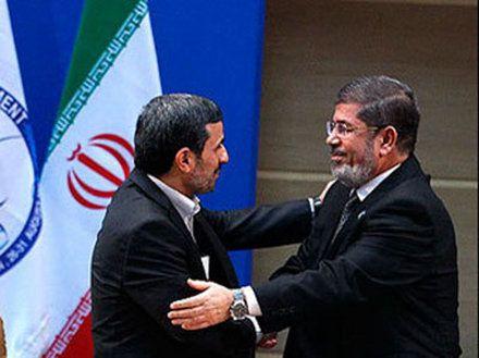 Махмуд Ахмадинежад и Мухаммед Мурси
