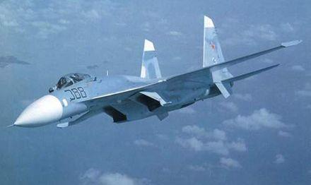 2 Су-27 якобы находились в японском воздушном пространстве / Фото: Aircat.ru