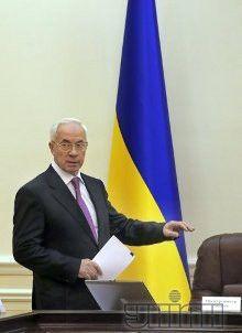 Николай Азаров на заседании Кабинета Министров