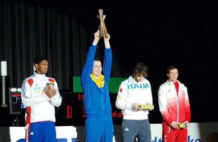 Никишин одержал победу на этапе Кубка мира / Фото: nffu.org.ua