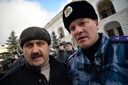 Полковника Александрова отстранили от службы, Гостинний двір / Фото з Facebook Max DeadArtist