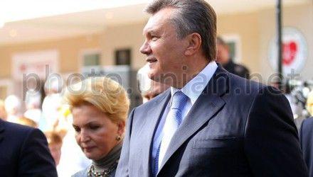 Віктор Янукович і Раїса Богатирьова