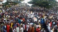 У Гвінеї демонстрація опозиції переросла в зіткнення з поліцією / Фото : presstv.ir