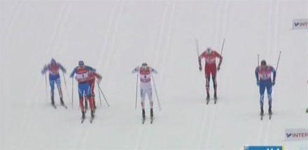 Гордиенко выиграла золото на дистанции 5 км.