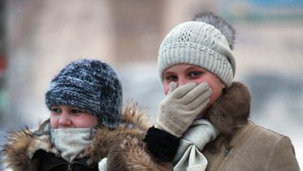 """После 7 декабря """"Укргидрометцентр"""" прогнозирует снижение температуры воздуха в стране."""