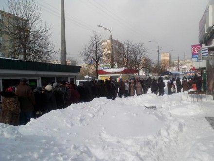 В Киеве наблюдается дефицит хлеба