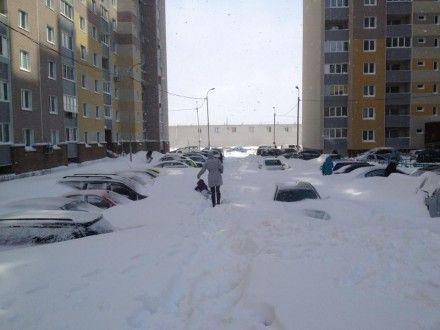 Снег стал неожиданностью для властей