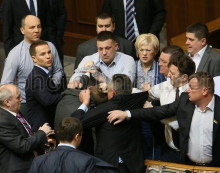 Столкновение в парламенте 19 марта