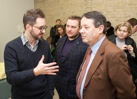 Открытие украино-французской выставки Memoria