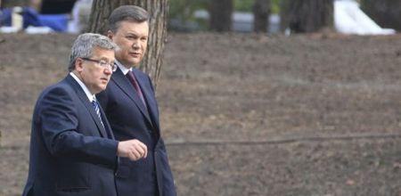 Януковича в Польше спрашивали о ТимошенкоЯнукович Коморовський
