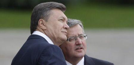 Янукович, Коморовський