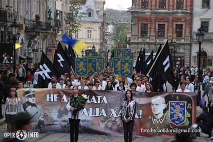 Марш пам'яті воїнів дивізії