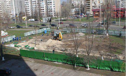 Строительство католического храма на Оболони / Фото : segodnya.ua