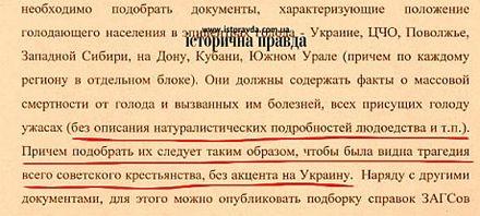 На Голодоморе в Украине
