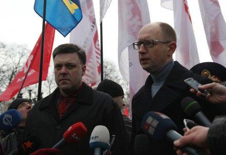 Оппозиция объявляет забастовку / Фото: facebook / Баткивщина