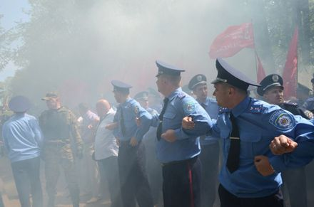 9 мая в Тернополе / Фото с сайта 0352.com.ua