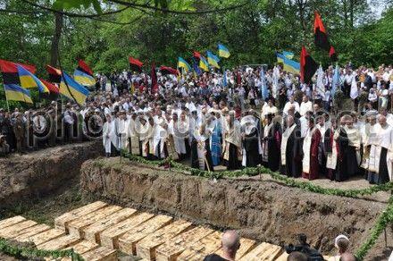 На Прикарпатье перезахоронили жертв НКВД 1939-1941 годов
