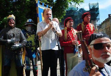 Львів зі святом 757 річчя вітали король