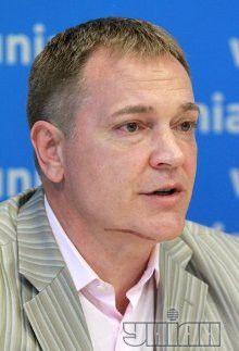 Вадим Колесниченко на пресс-конференции в УНИАН