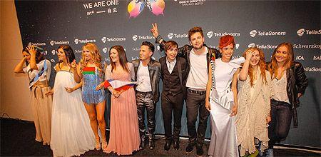Победители, вошедшие в финал / Фото: eurovision.tv