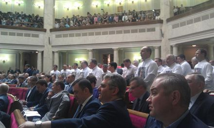 Батькивщина напомнила о Тимошенко / Фото с Facebook Виктора Чумака
