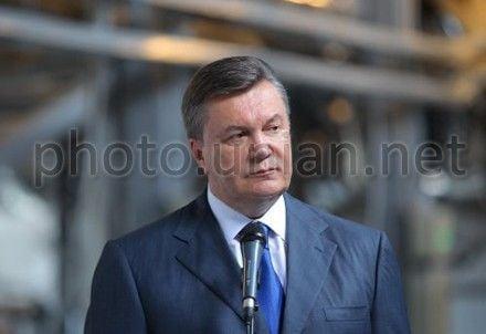 Янукович твердит о евроинтеграции