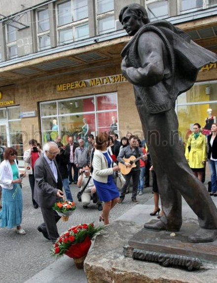 Во Львове почтили память музыканта и композитора Владимира Ивасюка
