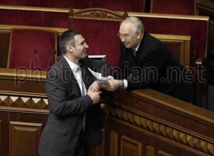 Кличко: Диалог Президента с фракциями должен состояться в стенах парламента
