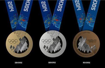 Медали Олимпиады в Сочи-2014