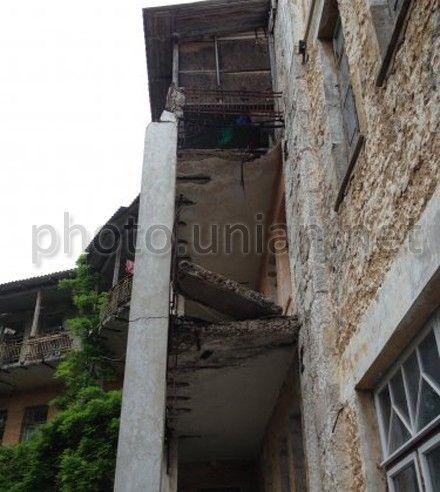 балкон із дітьми обвалився в Сімеїзі