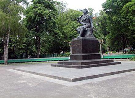Пам'ятник Пушкіну відновили до дня народження поета