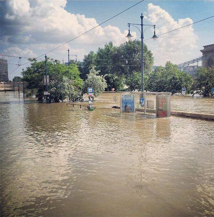 повінь у Будапешті / Фото: instagram.com/torbenthomsen