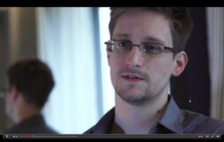 Едвард Сноуден / Скріншот інтерв'ю The Guardian