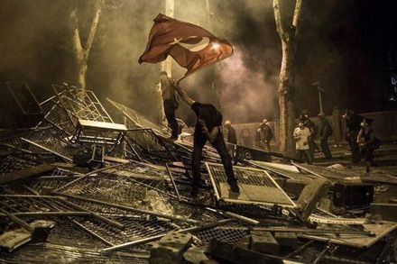Решить судьбу парка Гези предлагают на референдуме / Фото с Twitter