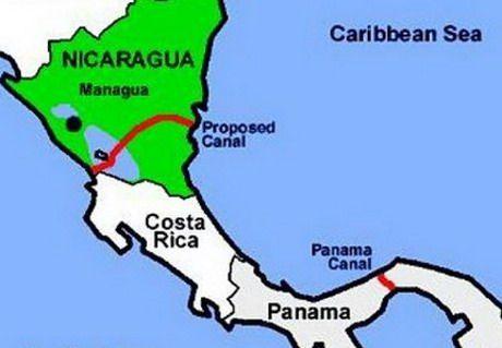 Никарагуанский канал будет втрое длинее Панамского