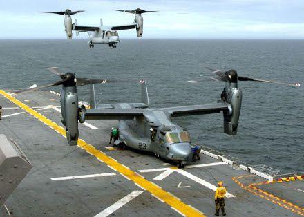 Конвертопланы сочетают преимущества самолета и вертолета