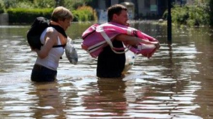 Вода в Хорватии продолжает прибывать / Фото: molbuk.ua