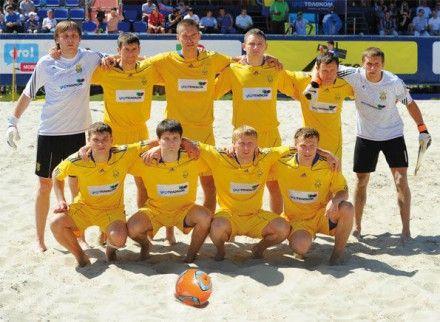 Сборная Украины проиграла команде Румынии со счетом 1:2 / Фото: beachsoccer.com.ua