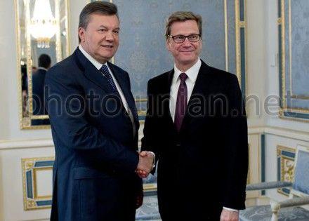 Вестервелле спросил Януковича о Тимошенко