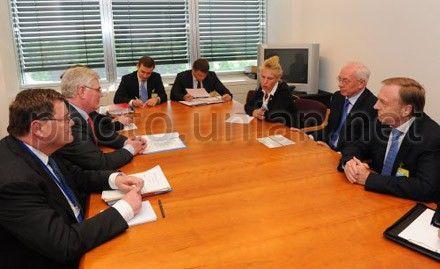 Заседание Совета по сотрудничеству Украина-ЕС в Люксембурге. Азаров