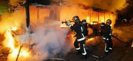 Троє дітей спалили автобус