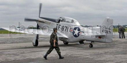 Американский истребитель времен Второй мировой