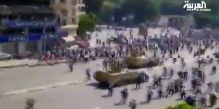 В Египте произошли столкновения между военными и сторонниками Мурси / Скрин-шот из видео Аlarabiya