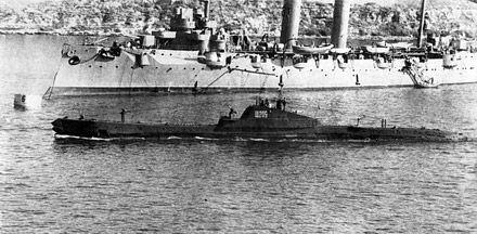 """Подводная лодка типа """"Щука"""" / Фото с сайта zorich.ru"""