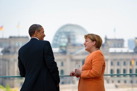 Обама Меркель / Фото: bundeskanzlerin.de/