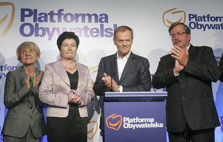 Гражданская платформа и ее союзники советуют смотреть в будущее / Фото: gover.pl