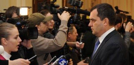 Захарченко вышел на пресс-конференцию