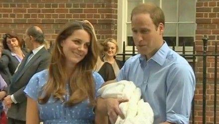 Кейт Миддлтон, принц Уильям и ребенок