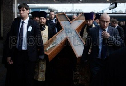Андреевский крест покинул Киев